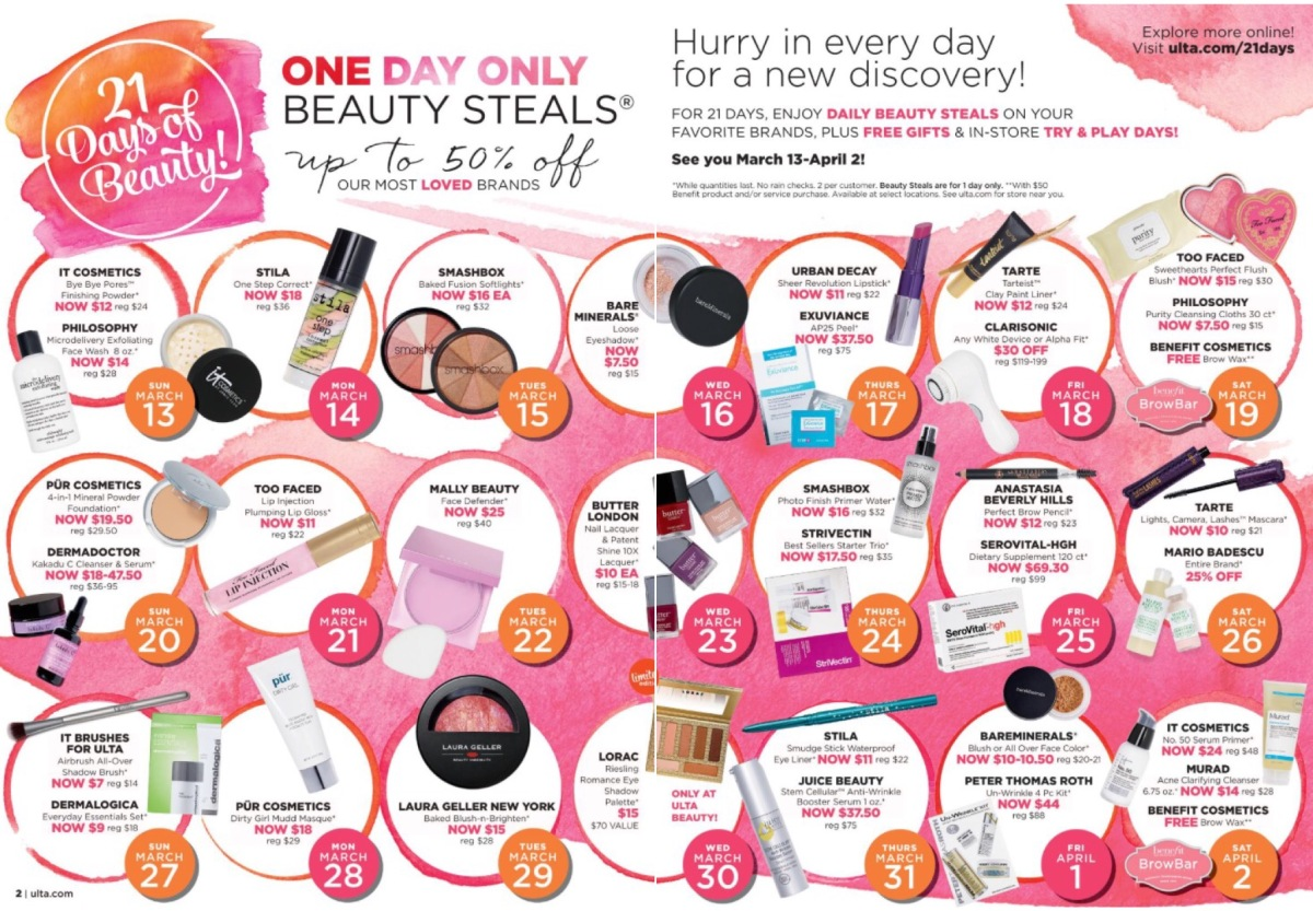 ULTA's 21 Days Of Beauty!